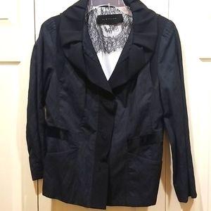 Elie Tahari Black Blazer Size 10